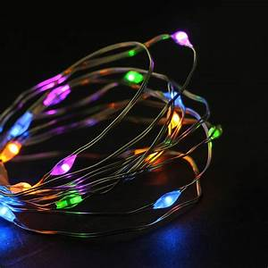 Northlight, 18ct, Micro, Fairy, Led, String, Lights, Multi