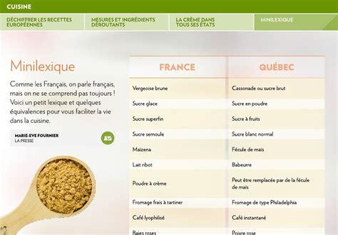 equivalence cuisine déchiffrer les recettes européennes la presse