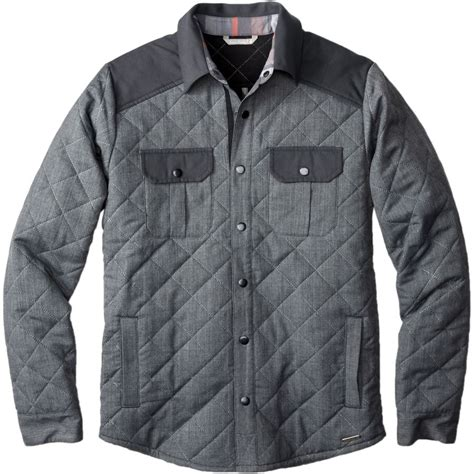 s quilted jackets smartwool summit county quilted shirt jacket s up
