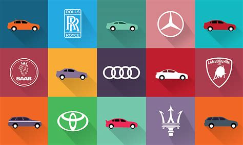 Top Car Company Logos Of 2018, From Brand Name Symbols To