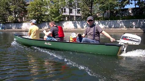 Old Town Sport Boat by Canoe Johnson 2 3 Gdansk 05 2014 Youtube