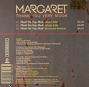 MARGARET Thank You Very Much vinyl at Juno Records.