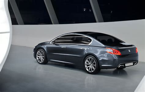 peugeot series first official images of peugeot 508 production series