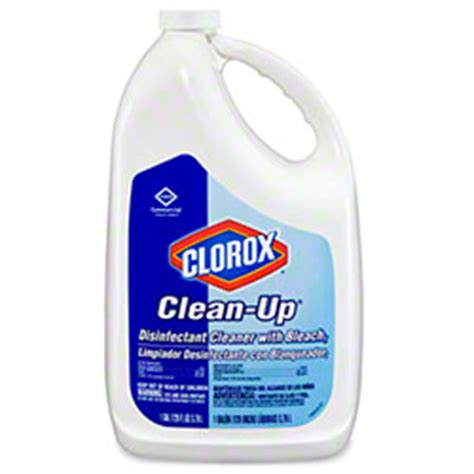 Clorox Disinfecting Bathroom Cleaner Sds Sheet by Clorox 174 Clean Up 174 Disinfectant Cleaner W 128 Oz