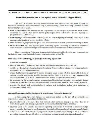 investment partnership agreement templates