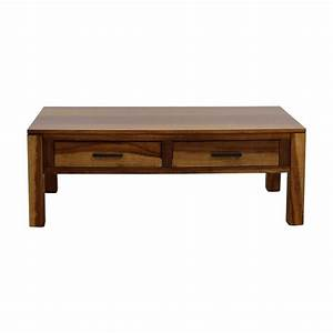 69 off coaster coaster coffee table with two drawers With coffee table sets with drawers