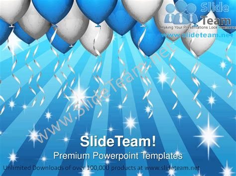 www celebrate it templates balloons celebration festival powerpoint templates ppt themes 1012 slides backgrounds