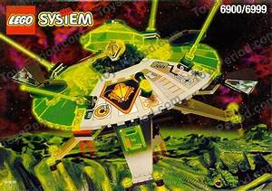 Lego 6900 Cyber Saucer Set Parts Inventory And