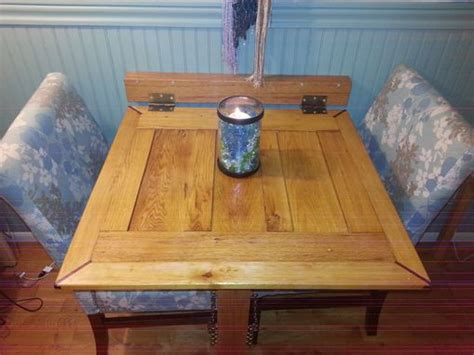 custom oak drop  dining table  emerald city crafts custommadecom