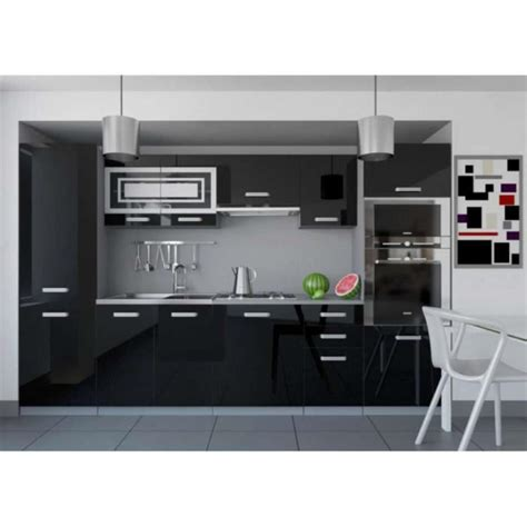 cuisine equipee complete justhome infinity cuisine équipée complète 300 cm couleur