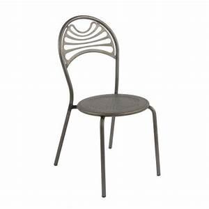 Chaise Style Industriel : chaise style industriel en m tal cabaret 4 pieds tables chaises et tabourets ~ Teatrodelosmanantiales.com Idées de Décoration