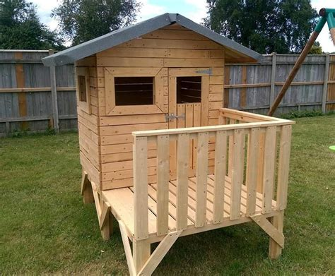 build  wooden playhouse kits loccie