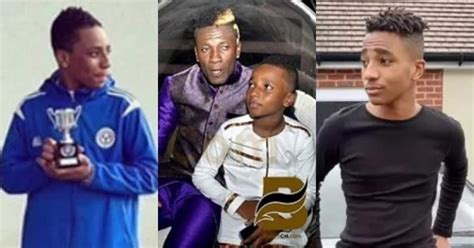 Asamoah Gyan's First son wins Trophy for Oxford City FC in UK