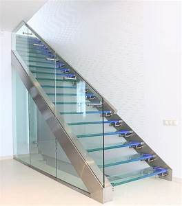 Treppe Mit Glas : exklusive glastreppen bei ihre treppe aus glas ~ Sanjose-hotels-ca.com Haus und Dekorationen