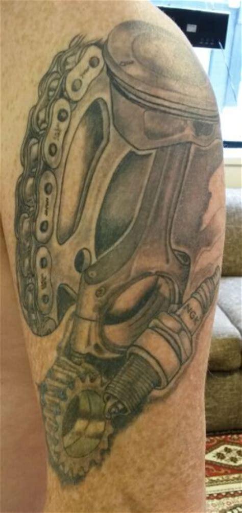 piston tattoo bike tattoos piston tattoo engine tattoo