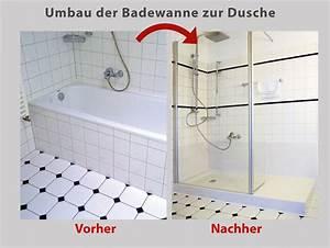 Badewanne In Wanne : wanne zur dusche badewanne raus dusche rein bad ~ Lizthompson.info Haus und Dekorationen