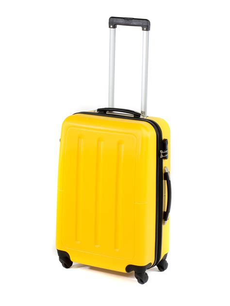 """Constellation Galloway ABS Suitcase, 24"""", Yellow ..."""