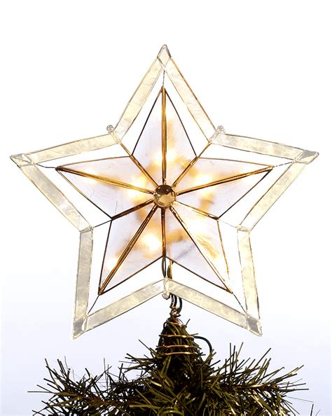traditional star tree topper personalized ornament