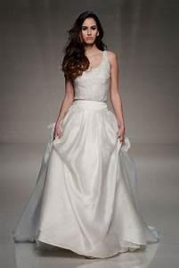 wedding dress separates top skirt wedding dress With wedding dress separates top