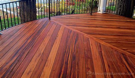 Advantage Hardwood Decking Benefits
