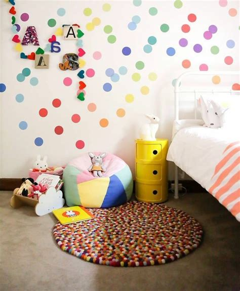 Kinderzimmer Wandgestaltung Punkte by Wandtattoos F 252 R Kinderzimmer Eine Idee Archzine Net