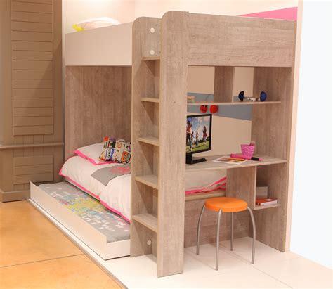 lit superposé avec bureau intégré lits superposés serenity lits lits superposés serenity