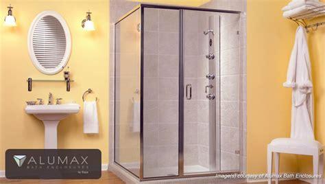 alumax shower doors glaz tech certified fabricator of alumax shower enclosures