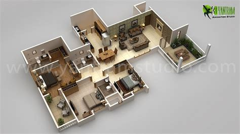 3d Floor Plan Creator, 3d Floor Design, 3d Home Floor Plan Brown Leather Living Room Decor Lighting For With High Ceiling Bedroom Table Indian Home Interior Design Ideas Modern Floor Lamps Furniture Cabinets Light Gray Walls Hgtv