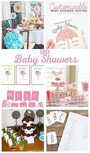Easy Baby Shower Ideas - The Crafting Chicks