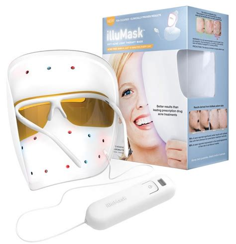 acne light therapy illumask anti acne light therapy mask product review