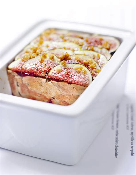 pignon cuisine terrine de foie de lotte confiture de figues et pignons