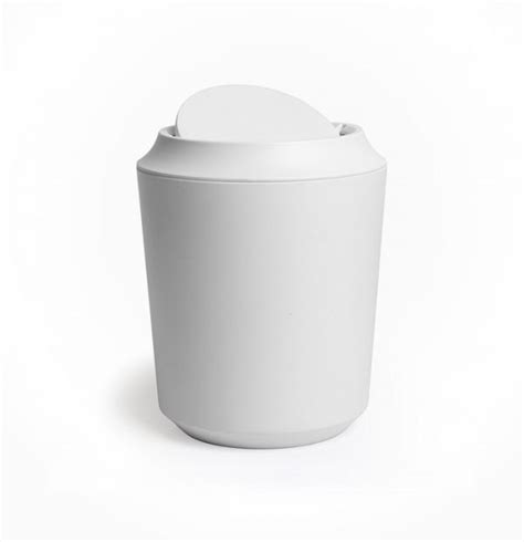 bathroom trash can with lid 3 gallon touchless automatic
