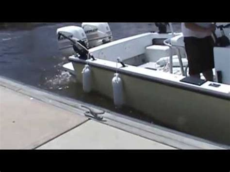 How To Make Boat Dock Bumpers by Easy Way To Dock Your Boat Using Boat Fender Used