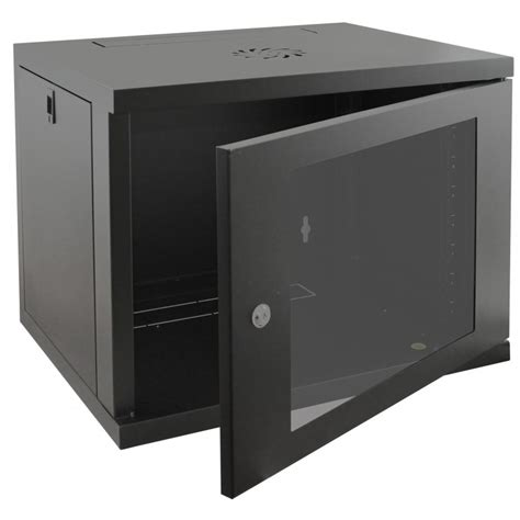 wall mount cabinet 9u 450mm wall mounted data cabinet in stock from rackyrax