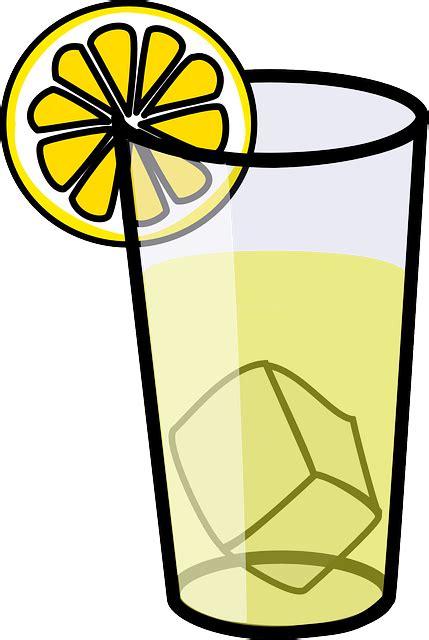 Lemonade Clipart Free Vector Graphic Lemonade Glass Drink Beverage
