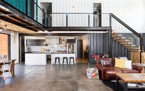 house   shipping containers  colorado warehouse home