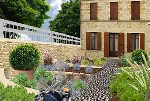 Gravier Pour Jardin : awesome gravier couleur pour jardin photos design trends ~ Premium-room.com Idées de Décoration