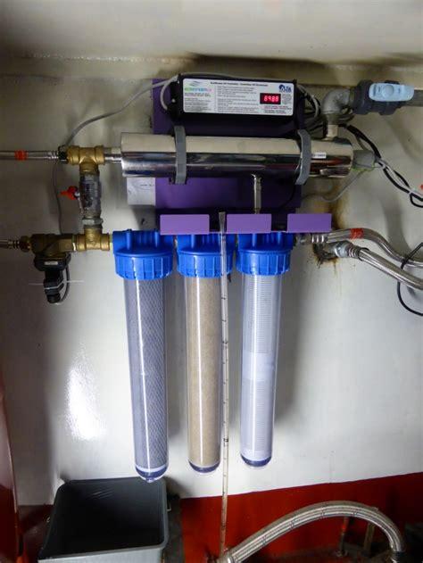 fabriquer eau potable sur un bateau qui navigue kairos peniche