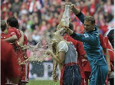 Bayern Munich Celebrated Bundesliga Title with BeerSoaked