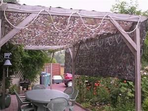 Filet Camouflage Pour Terrasse : filet camouflage pour pergola ~ Dailycaller-alerts.com Idées de Décoration