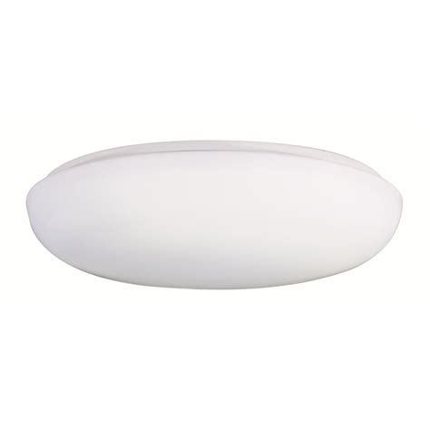 low profile ee 2 light 14 quot white flush mount with white