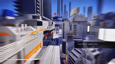 mirrors edge catalyst beta gameplay drone works mission pfps ign video