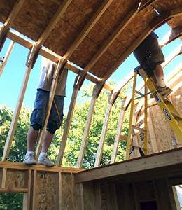 gambrel roof trusses how to build gambrel roof trusses With barn style roof trusses