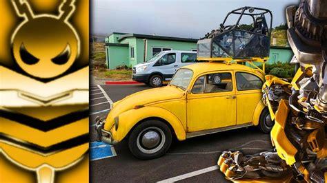 volkswagen bumblebee classic volkswagen on bumblebee film set