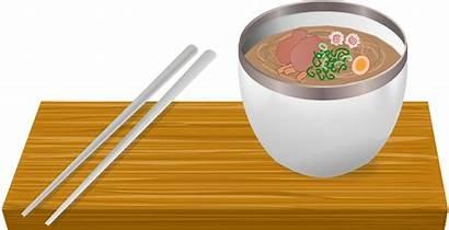 Ramen Bowl Clipart Noodle Soup Chopsticks Cup