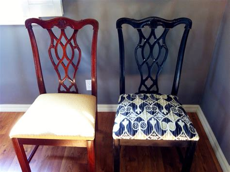 living my style diy dining room chair makeover