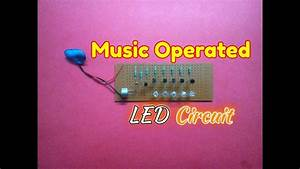 Music Operated Dancing Light Circuit   How To Make A Music