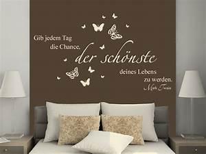 Bilder Für Schlafzimmer Wand : motivierendes wandtattoo zitat von ~ Sanjose-hotels-ca.com Haus und Dekorationen