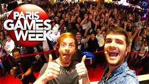 Games Week 2016 : coulisses de la paris games week 2015 amixem youtube ~ Medecine-chirurgie-esthetiques.com Avis de Voitures