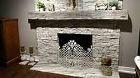 inspiring rustic fireplace mantel Inspiration - Realstone Systems